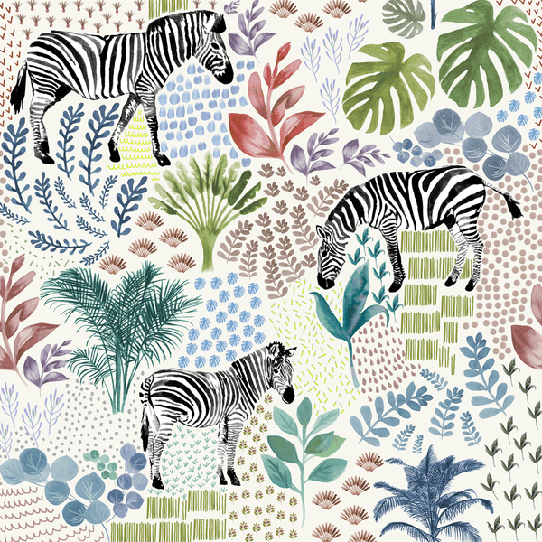 safari zebra wallpaper chalk