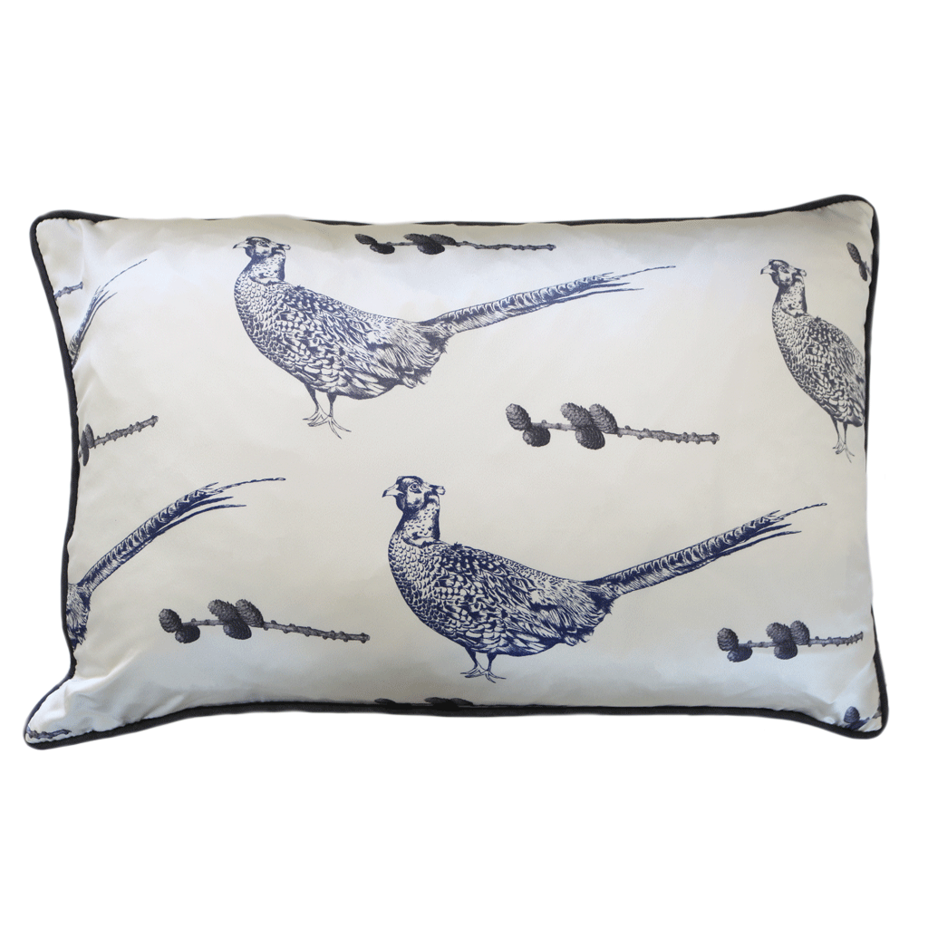 silk pheasant country home cushion - stil haven