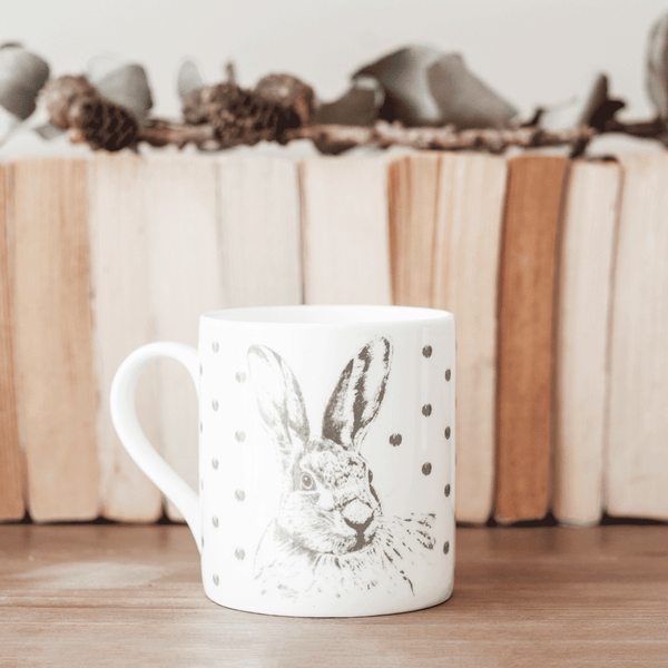Stil Haven woodland hare mug