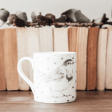 Stil Haven woodland robin mug