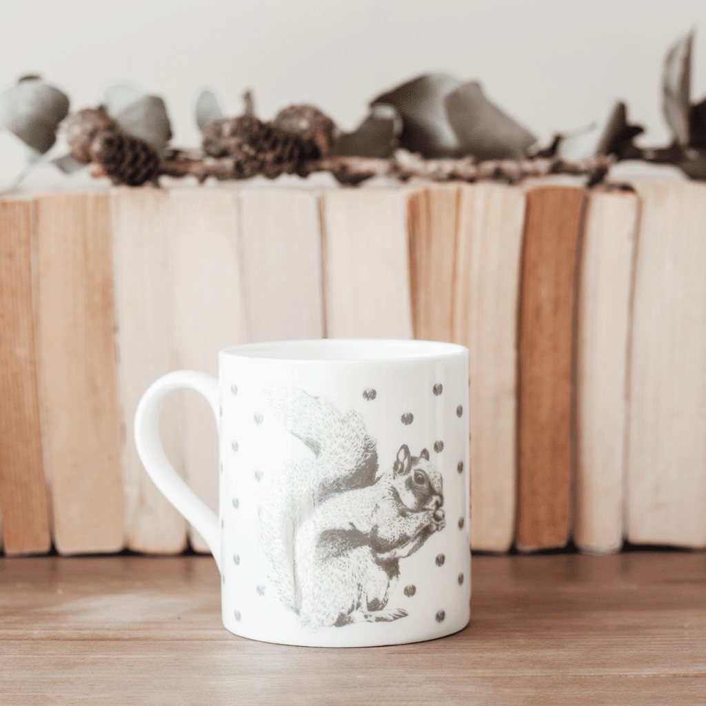 Stil Haven woodland squirrel mug