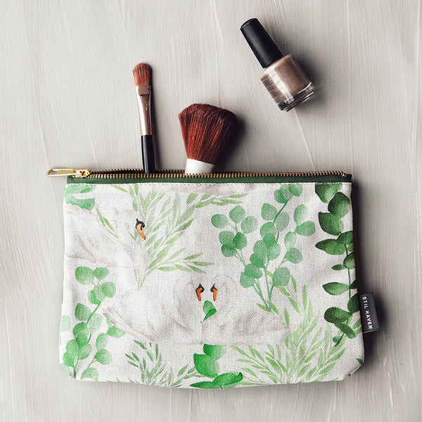 Swan Island Cosmetic + Wash Bag