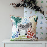 Stil Haven zebra white cushion