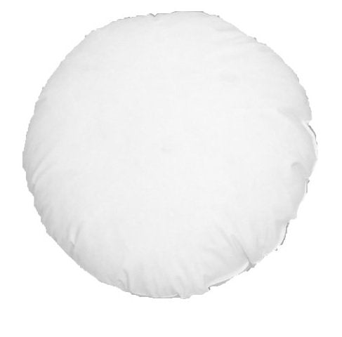 MoonRest Round Pillow Insert Hypoallergenic Polyester Form Stuffer-%100 Cotton Blend Covering for Sofa Sham, Decorative Pillow, Cushion and Bed