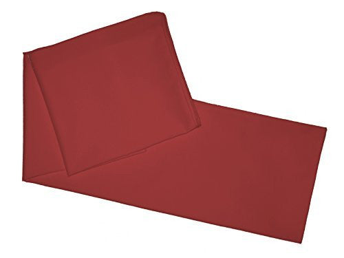 "Multiple Colors - Body Pillowcase / Cover - Zipper End 21""x 55"" (Burgundy)"