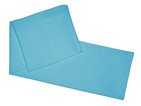 "Multiple Colors - Body Pillowcase / Cover - Zipper End 21""x 55"" (Aqua)"