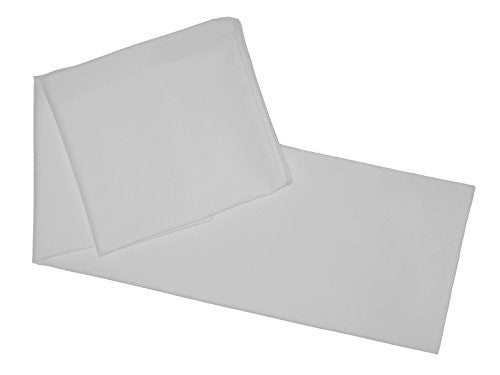 "Multiple Colors - Body Pillowcase / Cover - Zipper End 21""x 55"" (White)"