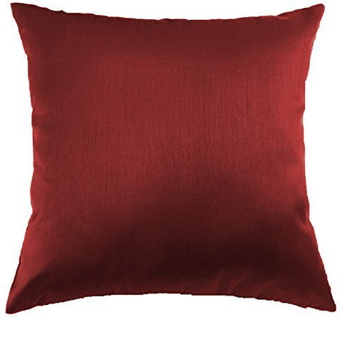 MoonRest Silk Satin Decorative Pillow Covers (Set of 2)