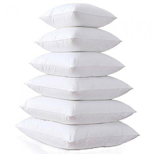 Square Pillow Form Insert Hypoallergenic Sham Stuffer