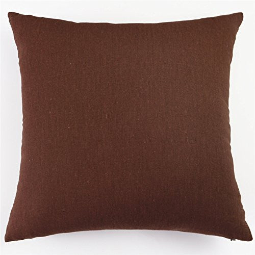 Moonrest Cotton Linen Decorative Throw Pillow Covers
