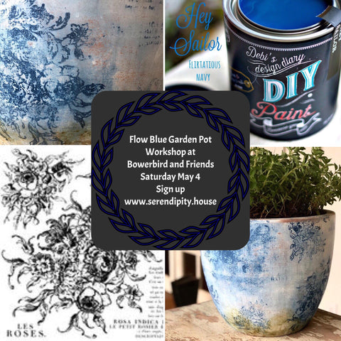 Flow Blue Pot Workshop