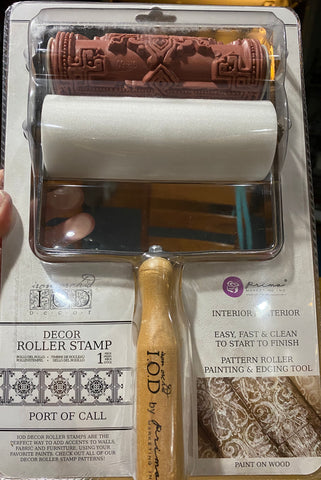 Port of Call Roller Stamp