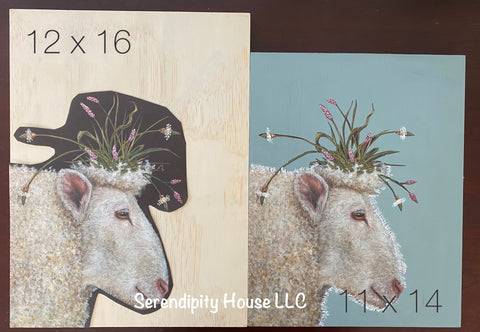 Sheep Decoupage Kit