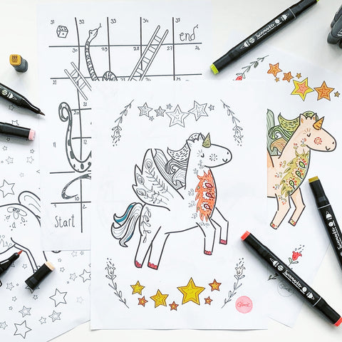 Moozlehome colouring pages, free printable colouring sheets