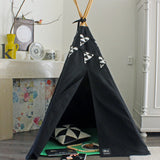 Triangles Bunting - Black and White