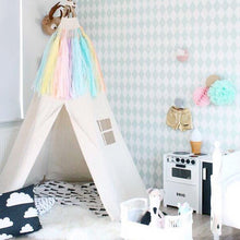 Load image into Gallery viewer, The BIG Moozle Teepee in Ecru unbleached cotton canvas.