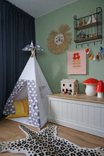 Load image into Gallery viewer, Reg Teepee | White + Cloud Design - POLES INCLUDED