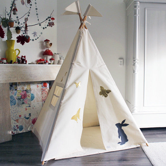 Teepee | Bunny and Butterflies