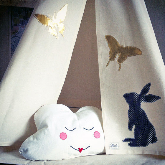 MIDI Teepee | Bunny and Butterflies