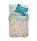 Moozle bedding Ziggy Cats organic cotton childrens duvet set