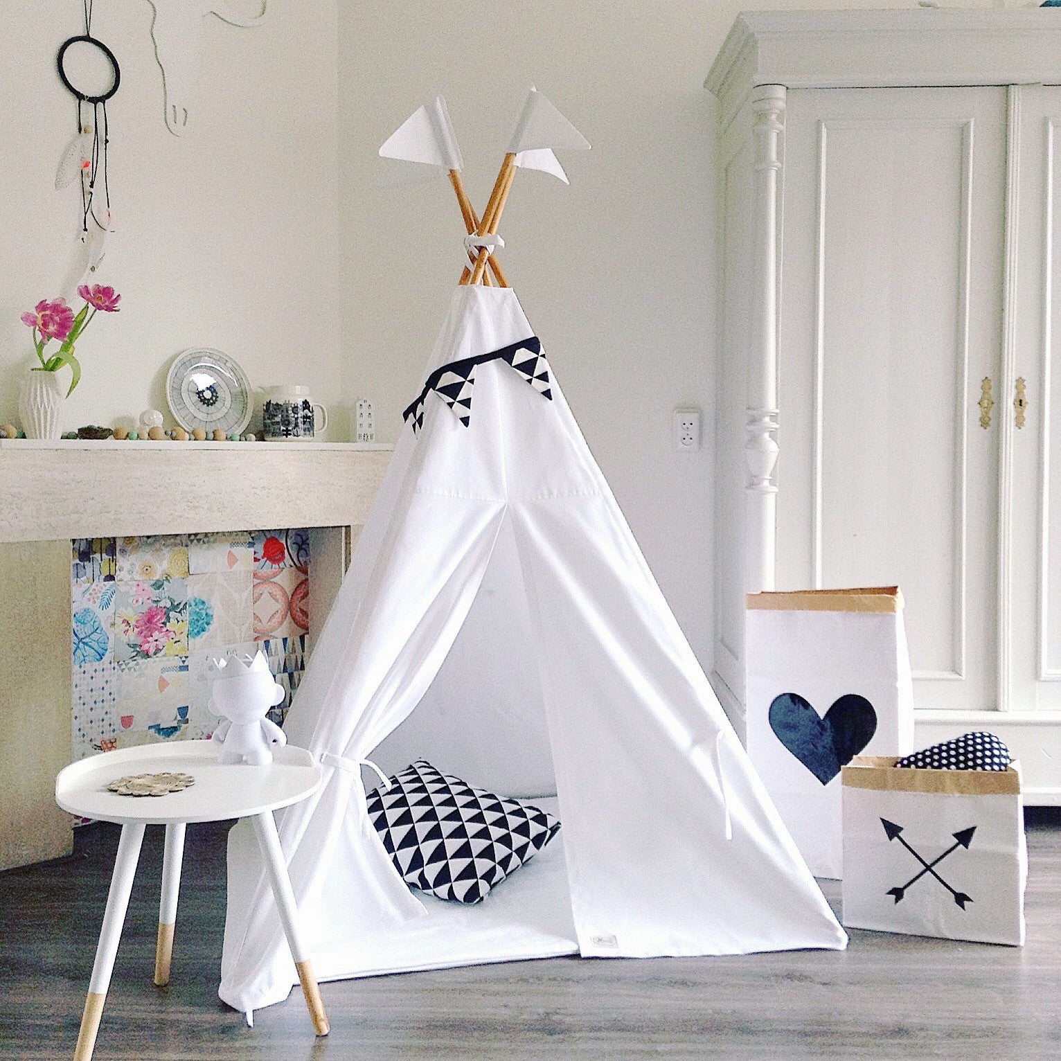 MIDI Teepee | Pure White SOLD OUT