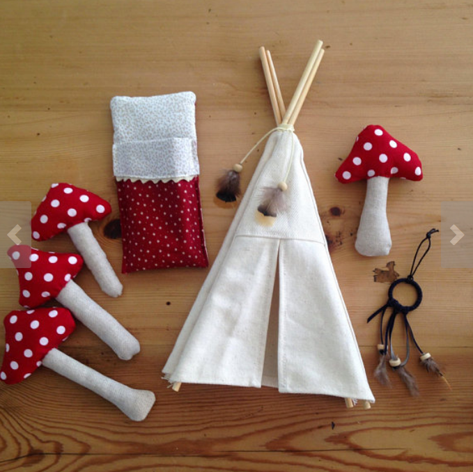 Little Camping Play Set