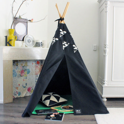 MIDI Teepee Black Canvas