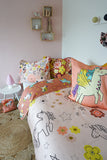 Moozle bedding set Unicorn Doodle organic cotton childrens duvet set