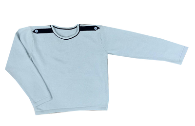 Lullaby Set Light Blue Mister Sweater