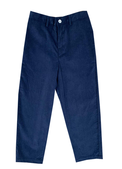 Lullaby Set Navy Corduroy Pant