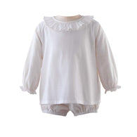Ivory Onesie with Trim (more colors available)