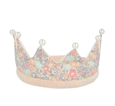 Meri Meri Floral and Pearl Party Crown