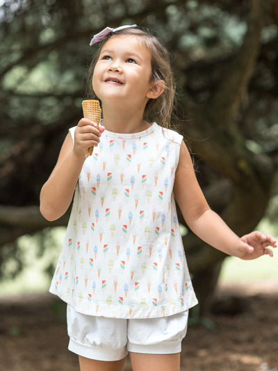 James & Lottie Maisy Set | Ice Cream Knit