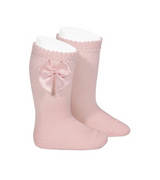 Perle Knee-High Socks with Bow (more colors available)