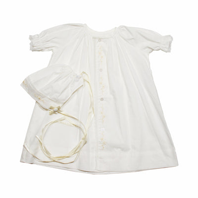Lullaby Set Ecru Embroidery Gown