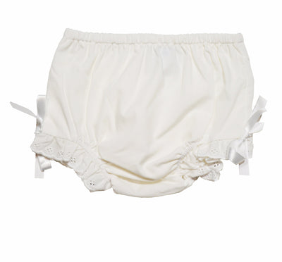 Lullaby Set Eyelet Trim Diaper Cover