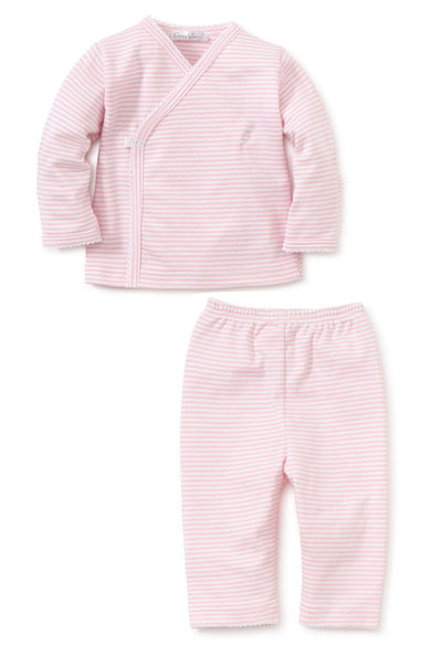 Kissy Kissy Stripe Cross Tee Set