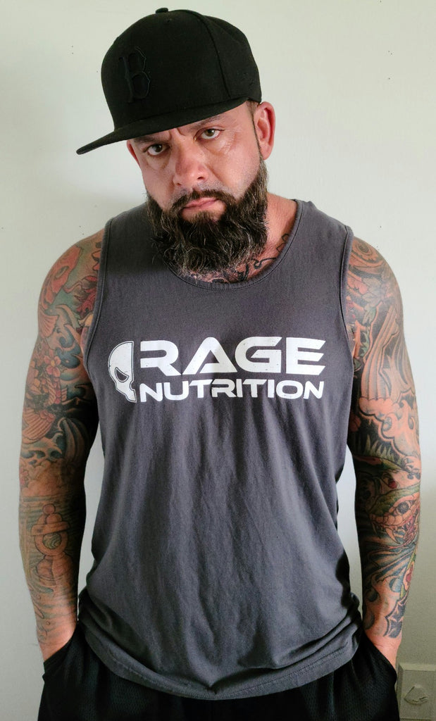 Rage Nutrition 2nd Edition Men's Tank Heavy Metal