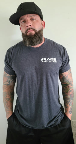 Rage Nutrition 2nd Edition Men's T-Shirt Charcoal