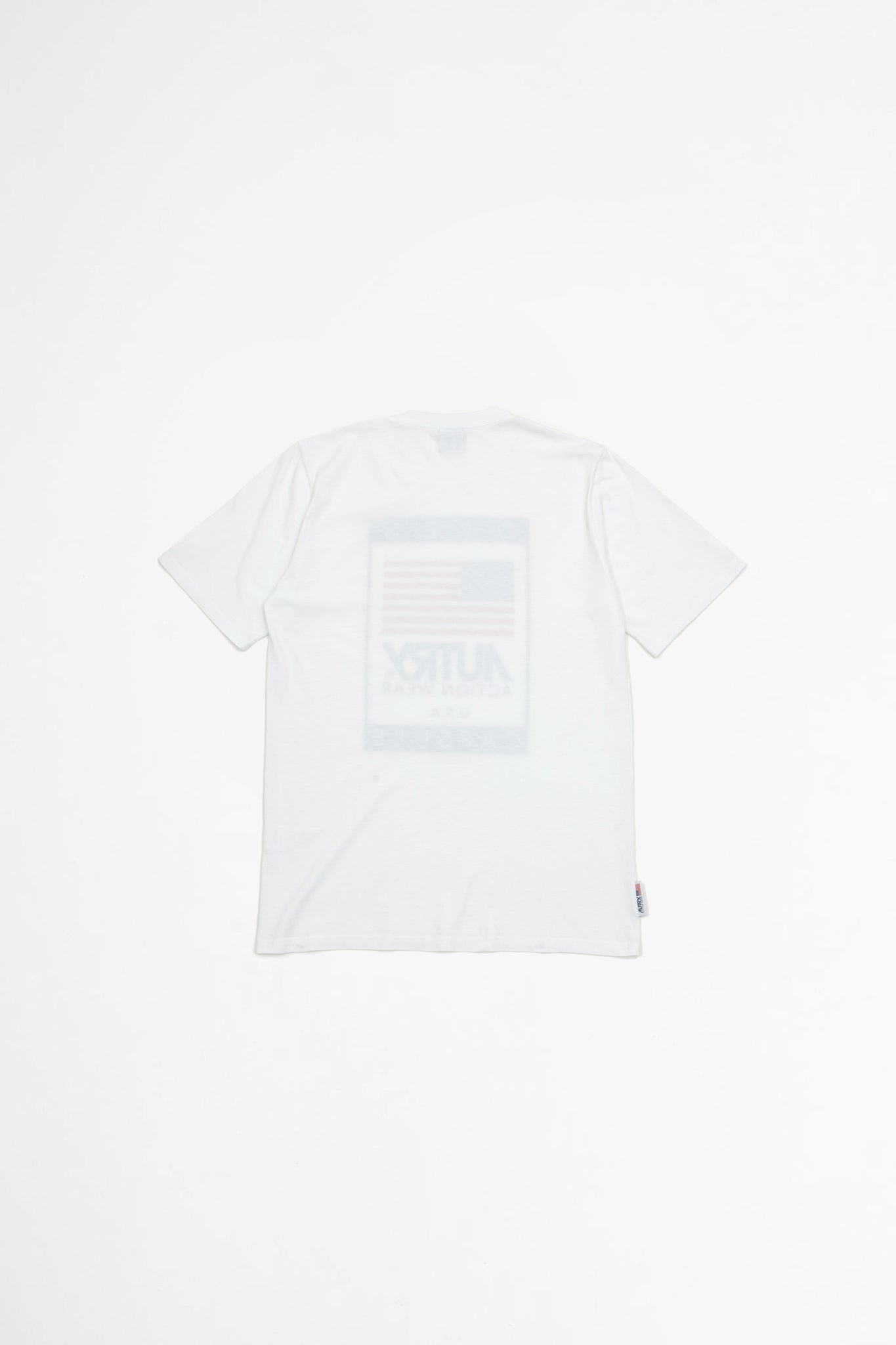 T-shirt open white