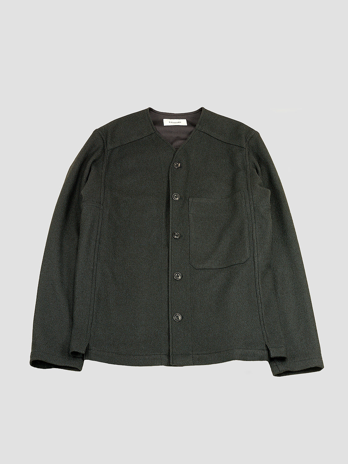 V-neck jacket by Lemaire