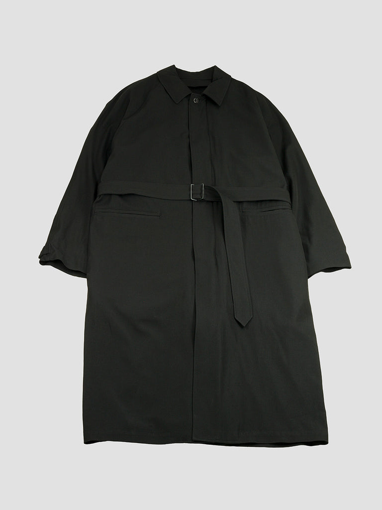Great Rain-coat in black by Lemaire