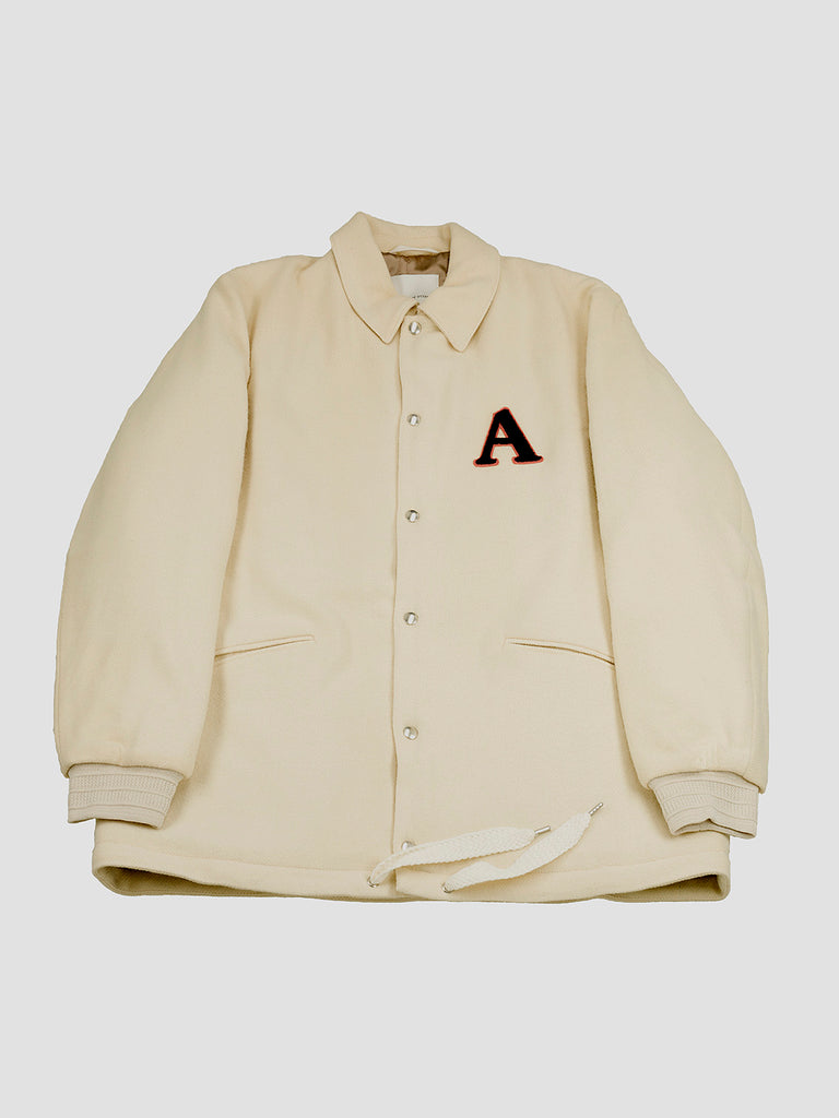 Koromo coach jacket in off white by A Kind of Guise