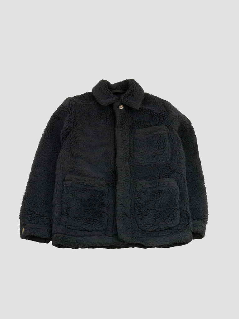 Nagoya Jacket in Teddy Navy by A King of Guise