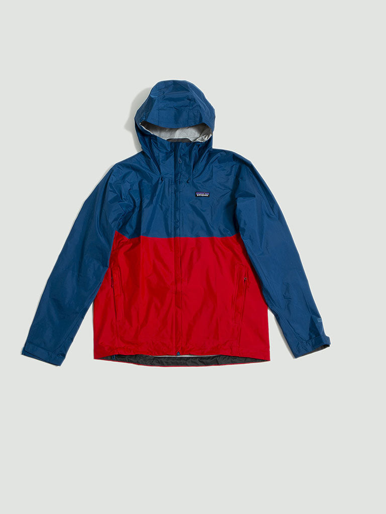 Patagonia. M´s Torrentshell Jacket blue/red