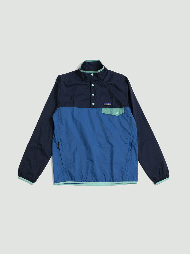 Patagonia. Houdini Snap-T jacket port blue