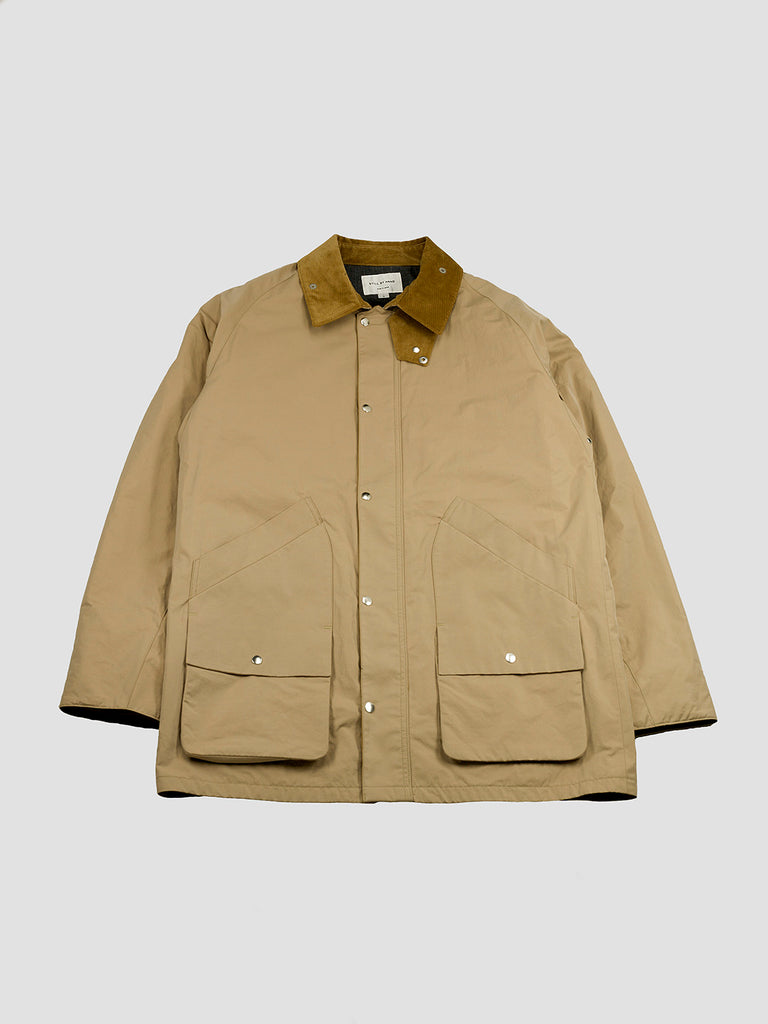 Fiel jacket in beige by Still By Hand with Thinsulate™ extra-soft finish
