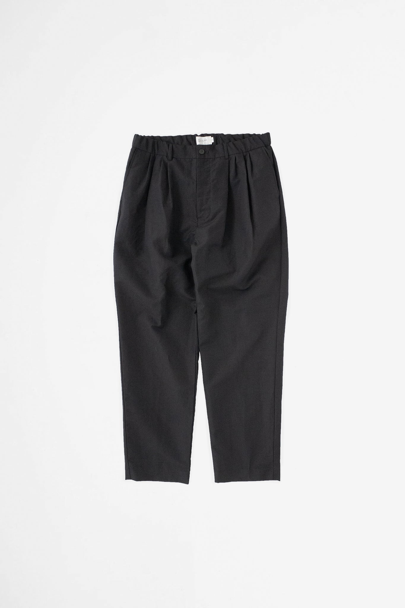 4 Tuck pants black