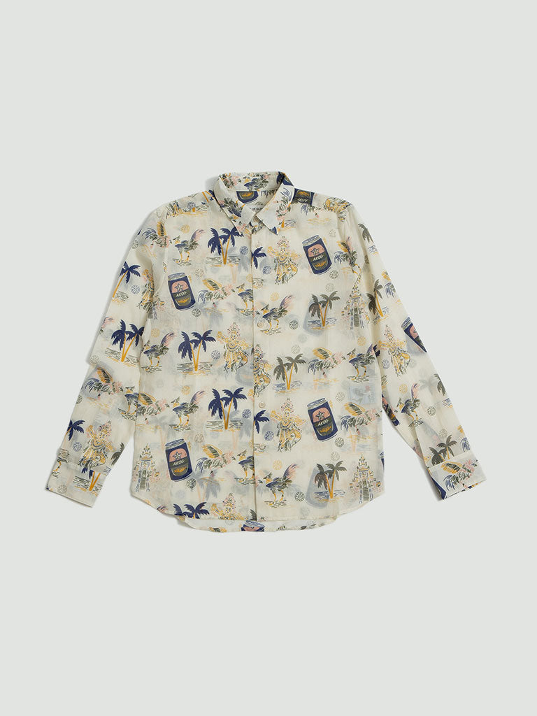 A Kind of Guise. Flores shirt tourist