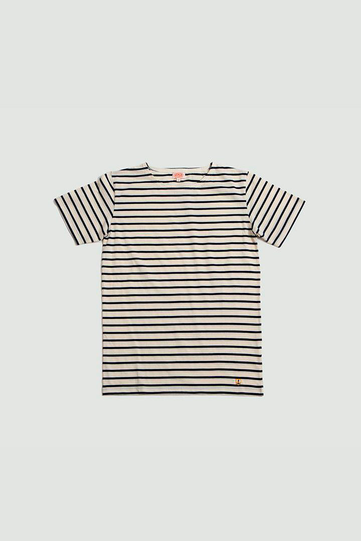 Sailor shirt SS navy/offwhite